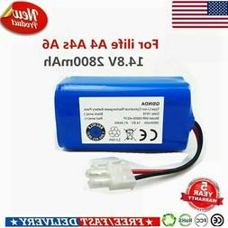For ILIFE A4S A4-A6 Battery Replacement 14.8V 2800mAh Robot