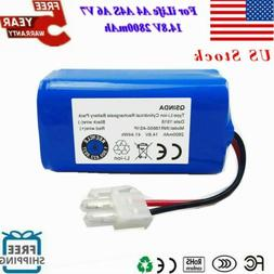 For ILIFE A4S A4 A6 V7 14.8V 2800mAh Battery Replacement Rob