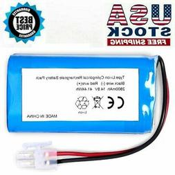 For ILIFE A4S A4 A6 V7 Battery Replacement 14.8V 2800mAh Rob