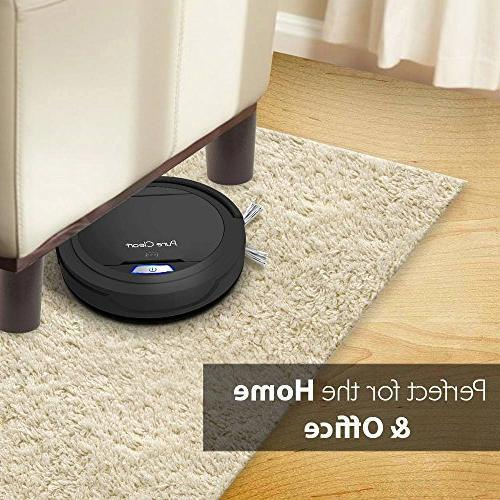PureClean Automatic Robot Cleaner Robotic Home for Carpet - Bot - HEPA Hair PUCRC26B