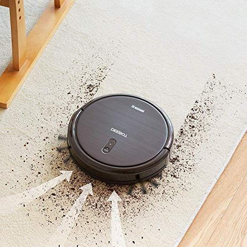 ECOVACS DEEBOT Robot Vacuum Cleaner Max Power Suction, App for Hard Surface Thin