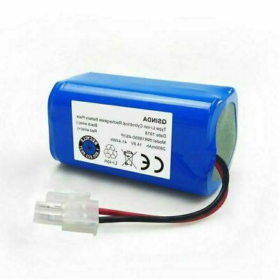 For ILIFE A4S A4-A6 Battery Replacement 14.8V 2800mAh Robot Vacuum Cleaner
