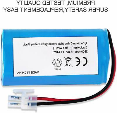 For A6 Replacement 14.8V Robot Cleaner