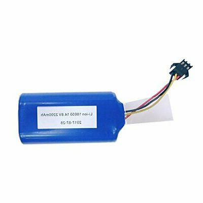 replacement battery for mt820 or deik robotic