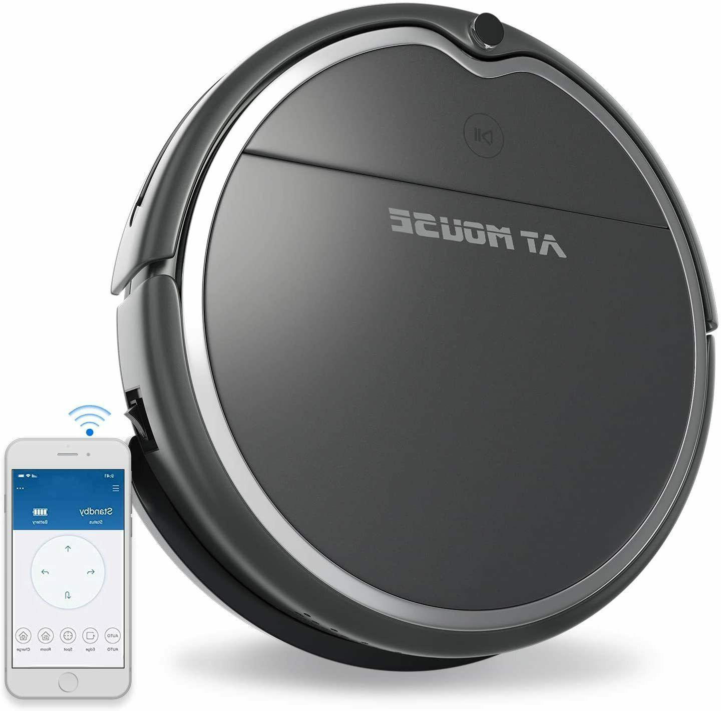robot vacuum cleaner with strong suction alexa
