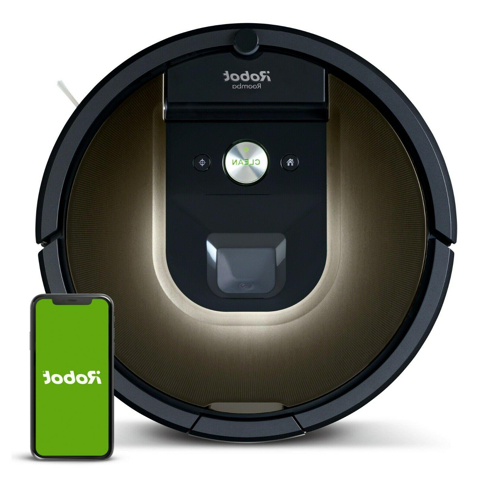 roomba 980 vacuum cleaning robot manufacturer certified