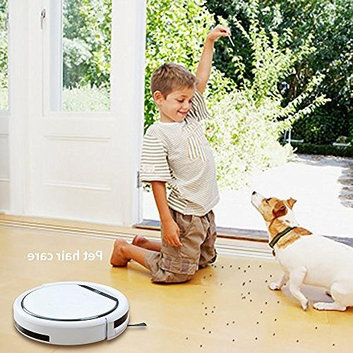 ILIFE V3s Robotic V3s, Pet Powerful Tangle-free, Design, Planning, Floor and Carpet -