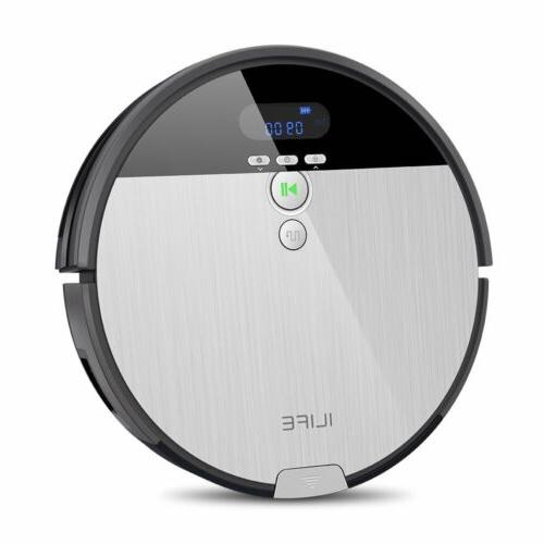 Ilife V8S Robotic Mop& Vacuum Cleaner With LCD Display 750ML
