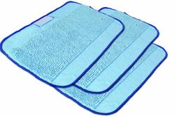 Microfiber 3-Pack, Pro-Clean Mopping Cloths for Braava Floor