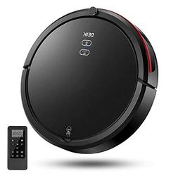 DEIK Robotic Vacuum Cleaner with Schedule Cleaning, Self-Cha