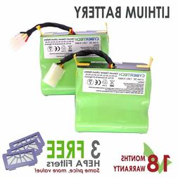 SUPER LONGLIFE Replacement Lithium Li-Ion Battery 4 Neato XV