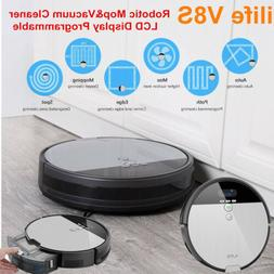 Ilife V8S Robotic Mopping Vacuum Cleaner W/ LCD Display Prog